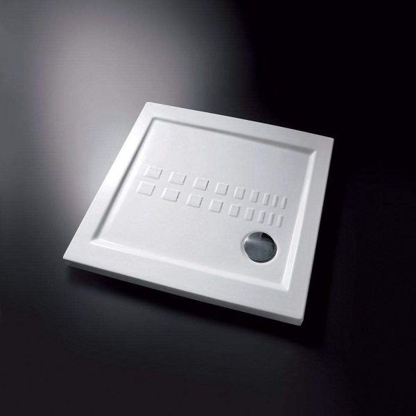 Piatto Doccia Ito 80x80 In Ceramica Slim H.5,5 Arredo Bagno Moderno CERAMICHEMIRANDA